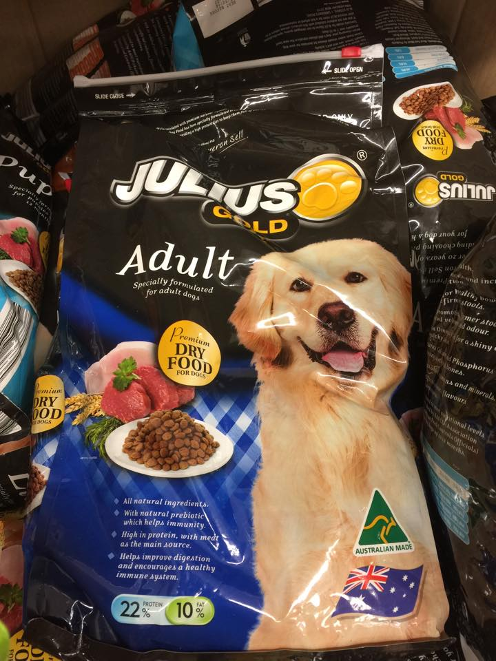 Aldi Julius Gold Gold Puppy Gold Lite Pet Food