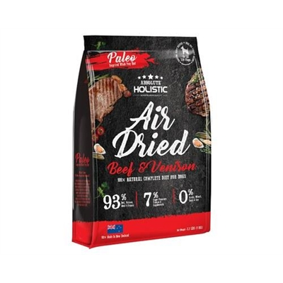 Absolute Holistic Air Dried Dog Food - Beef & Venison 1kg