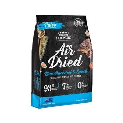 Absolute Holistic Air Dried Dog Food - Blue Mackerel & Lamb 1kg