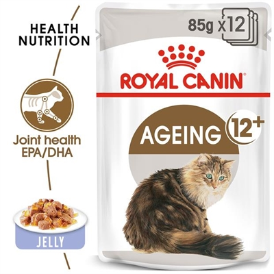 Royal Canin Feline Ageing 12 In Jelly 48 X 85g