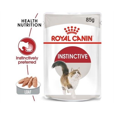 Royal Canin Instinctive Cat Loaf 85g Pouch