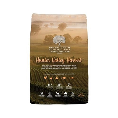 Vetalogica Biologically Appropriate Hunter Valley Harvest Adult Dog Food 3kg