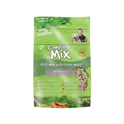 Vets All Natural Complete Mix Weight Loss 5kg