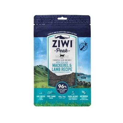 Ziwipeak Cat Air Dried Food Mackerel & Lamb 400g