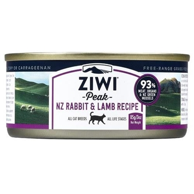 Ziwipeak Cat Can 85g Rabbit And Lamb X 24