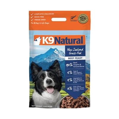 K9 Natural Beef Feast 3.6kg