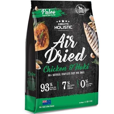 Absolute Holistic Air Dried Dog Food Chicken & Hoki 1kg