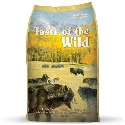 "Taste of the Wild ""High Prairie"" Dry Dog Food with Bison & Venison 6kg"