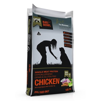 Meals For Mutts Grain Free Single Protein Chicken Dog Food 14kg