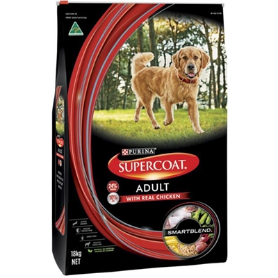 Supercoat Dry Dog Food Adult Chicken 7.5kg