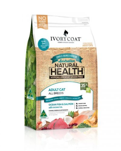 Ivory Coat Australian Ocean Fish & Salmon Dry Cat Food 3kg