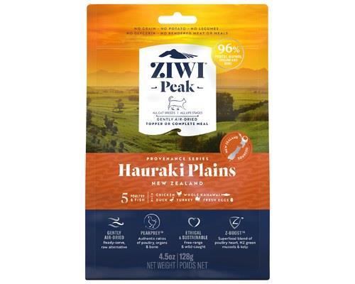 Ziwipeak Air Dried Provenance Hauraki Plains Cat Food 128g