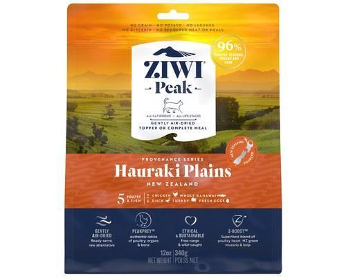 Ziwipeak Air Dried Provenance Hauraki Plains Cat Food 340g