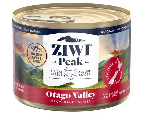 Ziwipeak Provenance Cat Canned Otago Valley 12x170g