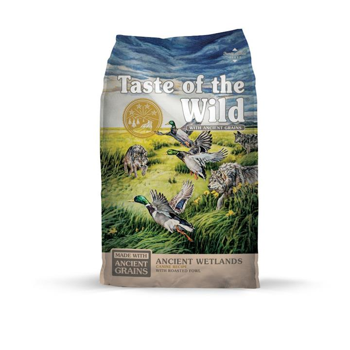 Taste of the Wild Ancient Grains Ancient Wetlands Dog Food