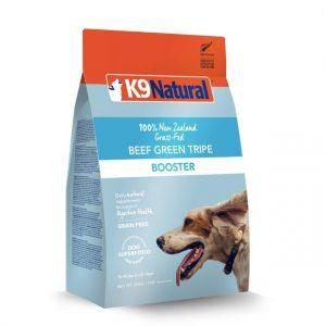 #4 Best Dog Treat in Australia:  K9 Natural Beef Green Tripe Booster / Topper