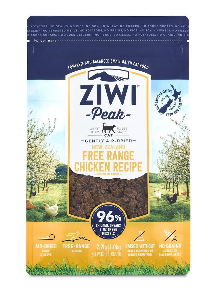 ZiwiPeak Air Dried Cat Food Chicken
