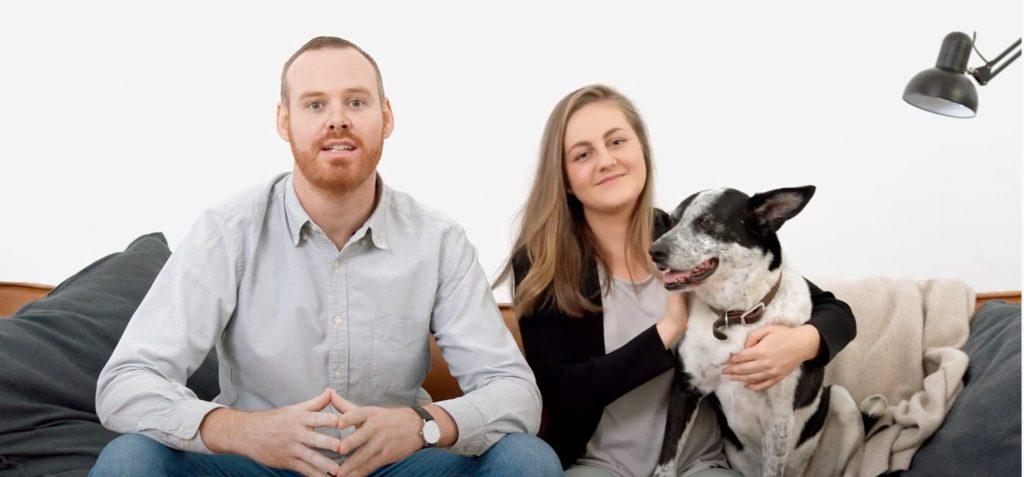 Lyka Dog Food Anna Podolsky & Dr Matthew Muir