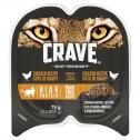 Crave Wet Cat Food Chicken Cuts In Gravy Tray 24 X 75g