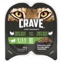 Crave Wet Cat Food Turkey Cuts In Gravy Tray 24 X 75g