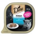 Dine Kitten Ocean Fish 3 X 14 X 85g