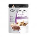 Optimum Healthy Weight Wet Cat Food Chicken In Jelly Pouch 30 X 85g