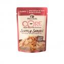 Wellness Core Simply Shreds Salmon And Tuna Wet Cat Food 12 X 50g